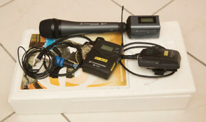Sennheiser EW100 G3 Wireless Microphone kit + Sennheiser E835