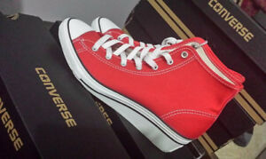 Brand new high hill converse sneakers size women's 8