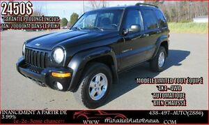 Jeep Liberty *GARANTIE 1AN* LIMITED * 4X4-4WD 2003