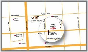Vaughan iCONA Condos By New Subway ★VIP SALE + $1000 Gift Card★
