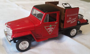 Canadian Tire diecast Classic 1952 Willys Jeep Stake
