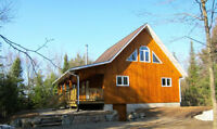 #250 - Very Private Cottage on 50 Acres & Private Fishing Lake