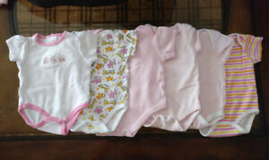 6 pieces   0-3 Months Baby Girl Clothes