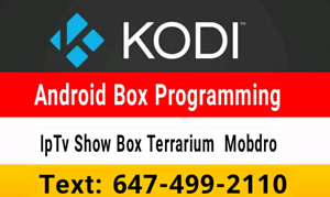 _*™ Androi  Boxes / Selling / Programming / Iptv  Repair update