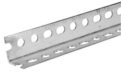 Slotted Steel Angle 18-gauge 1.25 X 1.25 X 60-in.