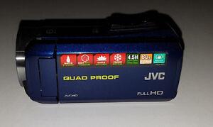 JVC Everio GZ-R10 Quad Proof HD Digital Video Camcorder