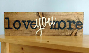 HAND PAINTED RUSTIC WOOD SIGNS Peterborough Peterborough Area image 10
