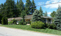 Shuswap - Spacious 5 Bdrm Rancher w/Walkout in Blind Bay, BC