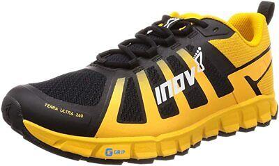 Inov-8 Mens Terraultra 260 Trail Running Shoe, Yellow/Black, 10.5 D(M) US