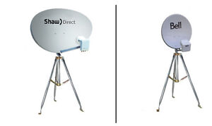 SHAW DIRECT / BELL / TELUS DISH OR TRIPOD FOR CAMPING