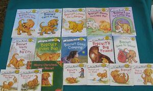 Biscuit- I Can Read( My First Reading books )& Phonics & Puppet