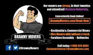Brawny Movers Inc.| Moving, Furniture Assembly&Deliveries| WSIB✅ London Ontario image 3