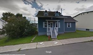 Maison à vendre à Chicoutimi