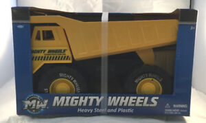 Mighty Wheels Heavy Steel and Plastic Dump Truck