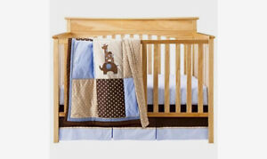 Three piece crib set