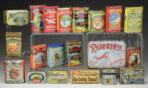 RARE HIGH END TOBACCO TINS WANTED FOR CASH NOW