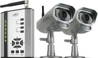 COMPLETE WIRELESS CAMERA SECURITY SYSTEM - EASY TO INSTALL