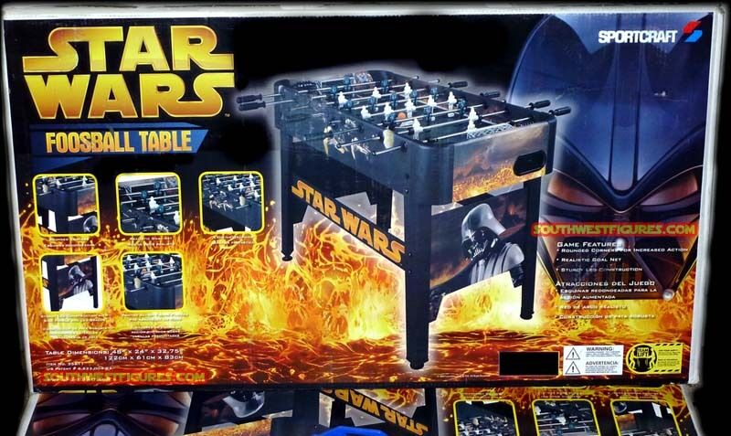 NEW Star Wars Foosball Table Game  in Factory Sealed Box