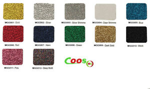 "Coos HTV Glitter Heat transfer Vinyl 12"" x 20"" /sheet heat press"