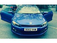 "VW Volkswagen Scirocco 2.0 TDI BlueMotion Tech GT 3dr, ""LOW MILEAGE"""