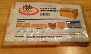 Kids Workshop-- Hockey Card Collector Box