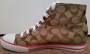 Coach Canvas High Top Sneaker Oakville / Halton Region Toronto (GTA) image 2