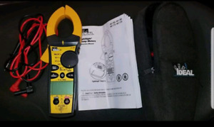 IDEAL 61-765 clamp meter. New condition.