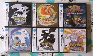 Pokémon games for the Nintendo DS