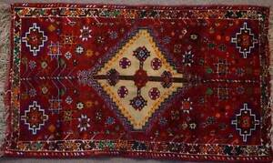 Antique Handmade Collectable Kashkooli Persian Rug 69x117 cm Hornsby Hornsby Area Preview