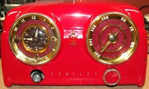 WANTED E15 AND D25 CROSLEY RADIOS