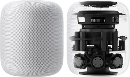 Apple HomePod Smart Assistant - White A1639(MQHV2LL/A)  used