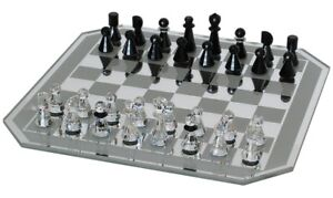Swarovski Crystal Chess Set