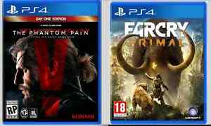 METAL GEAR SOLID V + FAR CRY PRIMAL
