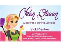 Professional Cleaning & Ironing Services