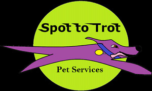 Spot to Trot dog walking, cat sitting and other pet services
