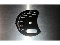 Kawasaki GPZ500 Tachoscheiben Tacho Gauge dial speedo face Ziffernblätter
