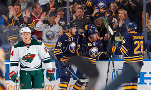Minnesota Wild vs Buffalo Sabres tickets 10/27/16 - 12 rows up!