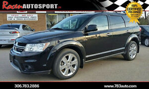 CERTIFIED 2012 Journey R/T AWD -80K - NEW TIRES+MORE - YORKTON