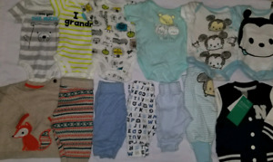 Baby boy Clothes 0-3 Months and newborn