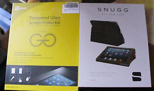 MINT: SNUGG IPAD CASE AND TEMPERED GLASS