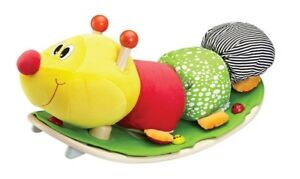 Eco-Friendly Wooden Rocking Caterpillar (by Softwood)