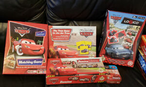 Lot de 6 jeux de Cars (Flash McQueen)