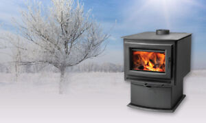 WOOD BURNING STOVES, made by NAPOLEON