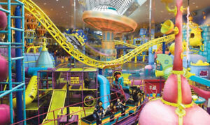WEM all day tickets World waterpark or Galaxyland