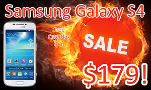 ★☆★Absolute MINT Samsung Galaxy S4 ★☆★