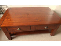 Large Coffee Table with two drawers
