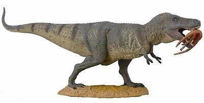 Tyrannosaurus Rex mit Beute im Maul 24 cm Dinosaurier Collecta 88573