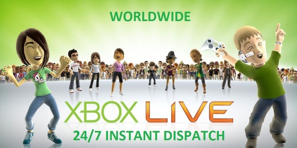 Xbox Live 3 Months Gold Worldwide Code l Code Xbox One /360 INSTANT DISPATCH