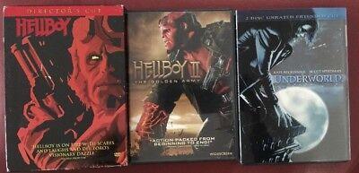 Hellboy Hellboy 2 II Underworld Dvd