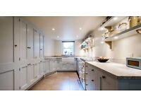 exp cabinet makers /fitters,freelance fitters and a workshop hand